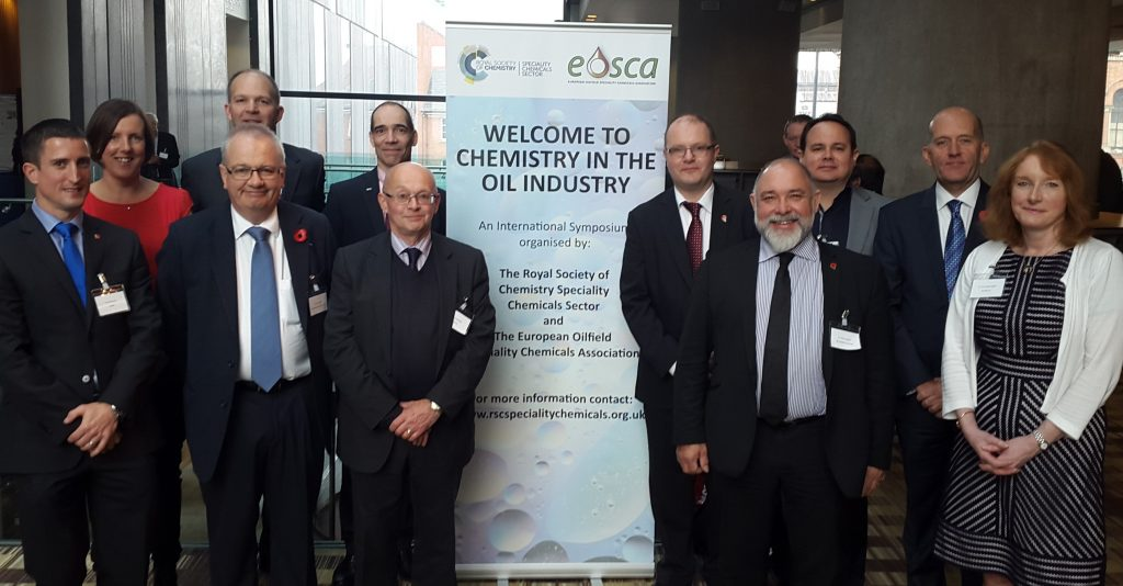 The 2015 Organising Committee of the Chemistry in the Oil Industry Symposium