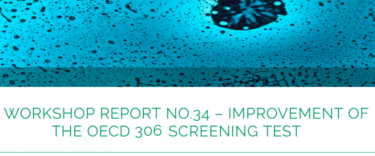 Improvement of the OECD 306 Screening Test – Workshop Report