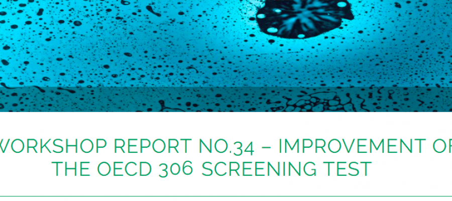 Improvement of the OECD 306 Screening Test – Workshop Report
