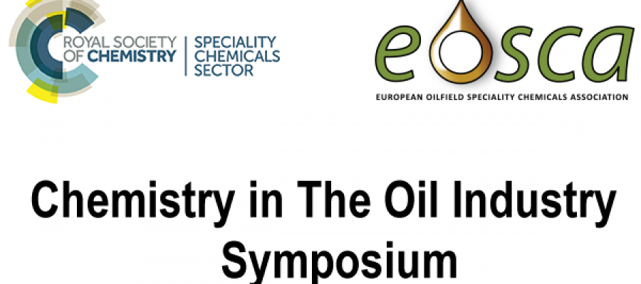 Chemistry in the Oil Industry XVI: New Chemistries for Old Problems, 4th – 6th November 2019, Manchester, UK